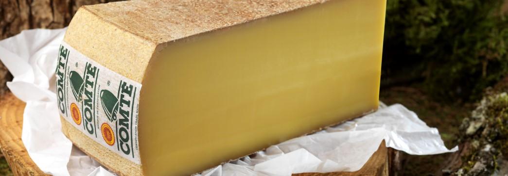 Le Comté, fromage labellisé AOP